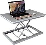 MJK Table pliante , Support de levage pour ordinateur portable de levage Table d'étude pliante pour ordinateur portable - Banc de travail,gris