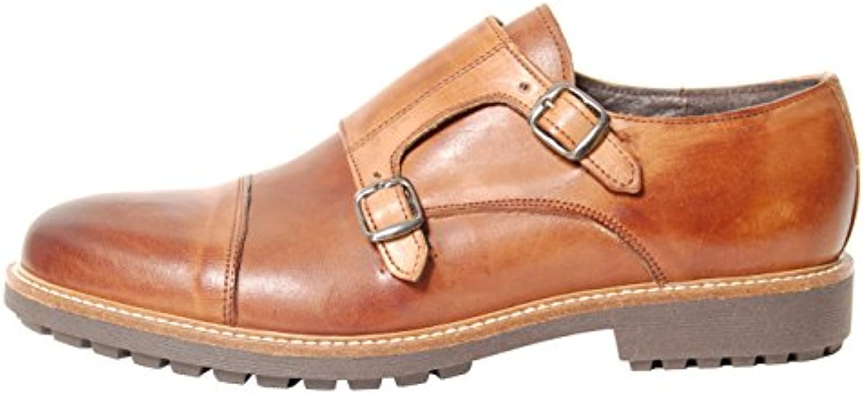 Antica Calzoleria Campana Schuhe | Mod. 9501 | Monkstrap | Kalbsleder | braun oder schwarz