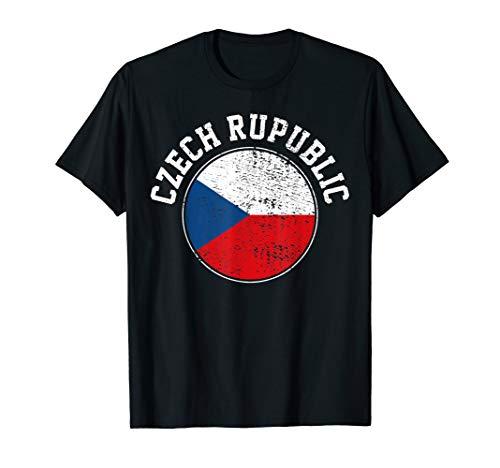Tschechische Flaggen T-Shirt