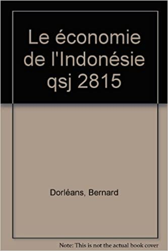 Livre gratuits en ligne L'économie de l'Indonésie pdf