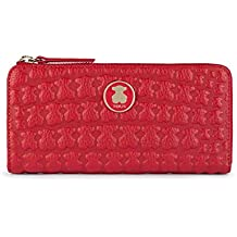 Tous 995960440, Monedero para Mujer, (Rojo), 19x10x2 cm (W x