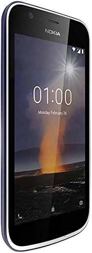 Nokia 1 8GB Dark Blue Dual-SIM Android 8.1 Go Edition Smartphone