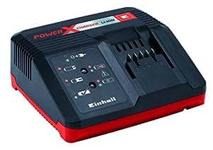 Einhell System 45.120.11Power X-Change, Caricabatterie Rapido, 200 – 250 V ~ 50-60 Hz