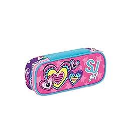 ASTUCCIO COLOUR CASE SJ GANG POP STAR accessoriato GIOTTO scuola SEVEN