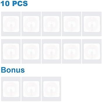 10 NFC Tags Stickers adesivo NTAG213 Circus rondo 22mm 144Byte