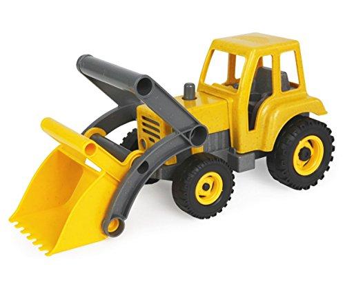 SIMM Spielwaren Lena 04213 - Eco Aktives Traktor mit Frontschaufel ca. 35 cm