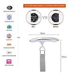 Acheter MYCARBON Pèse Bagage Valise Electronique Balance Portable... en ligne