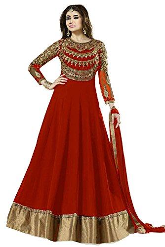 Suits for Women Indo-Western Blue Party Wedding Wear Floor Length Gown/ Anarkali Suit/ Salwar Suit