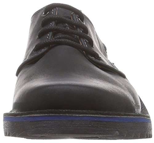 Clarks - Remsen Limit, Scarpe stringate basse brogue Uomo Nero (Black Leather)