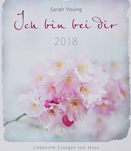 Ich bin bei dir 2018 - Postkartenkalender *: Liebevolle Zusagen von Jesus.