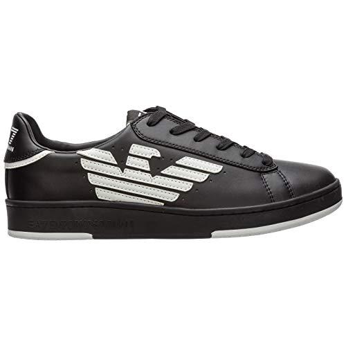 Emporio Armani EA7 Herren Sneaker Nero 43 1/3 EU