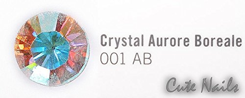 Cristaux Swarovski – Crystal Aurore Boreale 50 pierres SS5 – Elements env. 1,8 mm