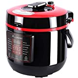 Aobosi Electric Multi-Cooker, 6L/1000w, Digital Programmable Electric Pressure Cooker with BPA Free Stainless