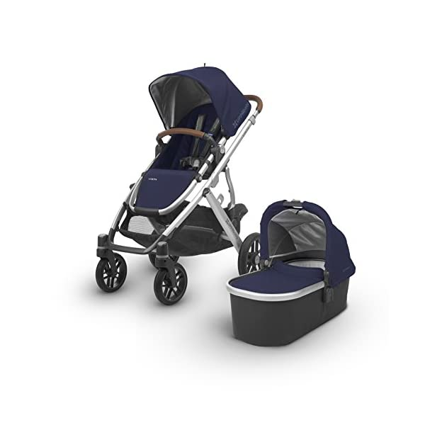 Uppababy Pushchair, Taylor Navy UPPAbaby A pushchair/ travel system with all weather protection Can be upgraded to carry two or three children with additional accessories Large basket 1