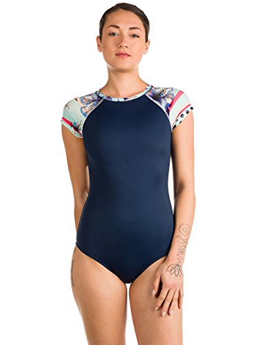 Roxy Damen Schwimmanzug blau M