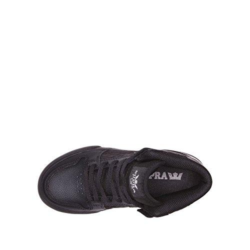 Supra Skytop S18091, Sneaker Uomo Noir Cuir / Noir