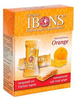 IBONS Kaubonbons 60 g (Ingwer-Orange)