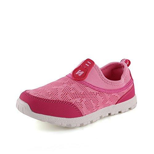 IDEA FRAMES Kinder Casual Schuhe Fashion Sneaker f眉r Kinder Rosa