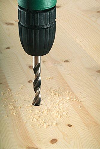 Bosch Pro 5tlg. Holzspiralbohrer-Set mit 1/4- Sechskantschaft HSS