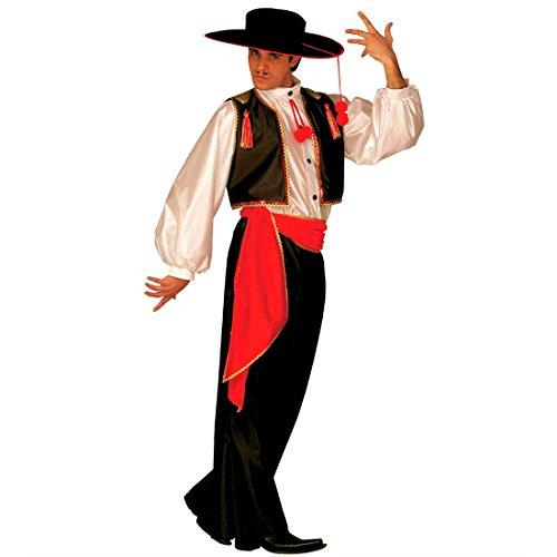 Spanier Kostüm Flamenco Tänzer Latin Flamencotänzer Tanzkostüm Fasching Karneval Gr M 46/48