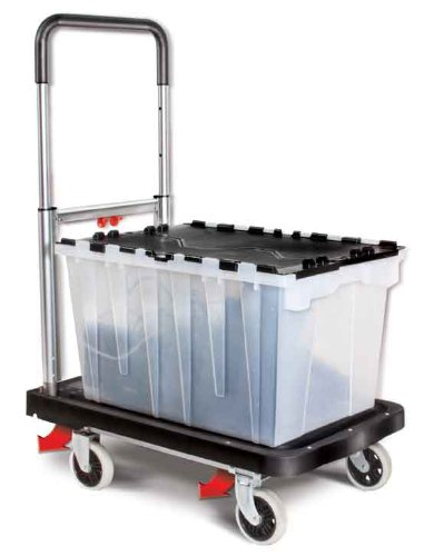 Magna Cart, Carrello Completamente Richiudibile , Nero (Black)