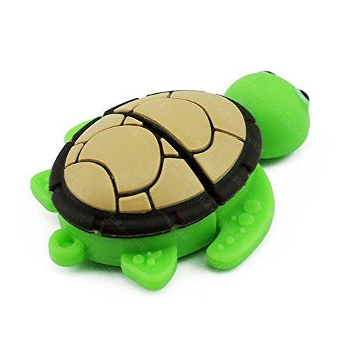 Kentop - chiavetta usb 2.0 da 16 gb, a forma di tartaruga 16 gb 16 gb