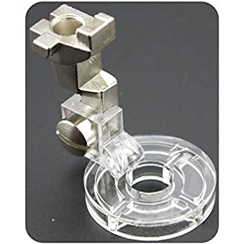 Foot Adapter 0083687000 DL-EM-BN-P-LS #77 DREAMSTITCH Bernina Ruler Foot and 1//4 Low Shank Clarity Clear Free Motion Patchwork Sewing Presser Foot