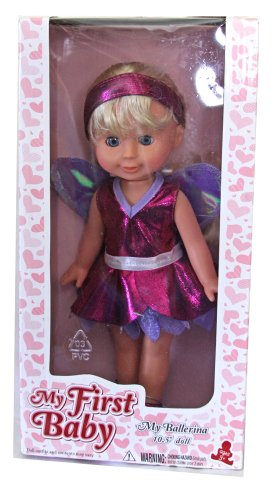 My First Baby 10.5 inch My Ballerina Doll by Holly