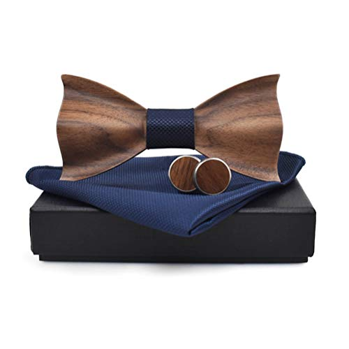 colore: blu navy, dimensioni: 102 * 63 cm Om ombrello automatico antivento a doppio strato aperto // chiuso a 10 costole con manico in legno massiccio Ombrello pieghevole da viaggio for uomo e donna