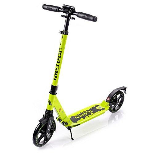 Meteor® Scooter per Bambini, Ragazzi e Adulti | Monopattino | Roller | Pieghevole | vari colori e modelli, City - Miami
