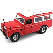 Bburago - Land Rover Series II, color rojo (18-22063)