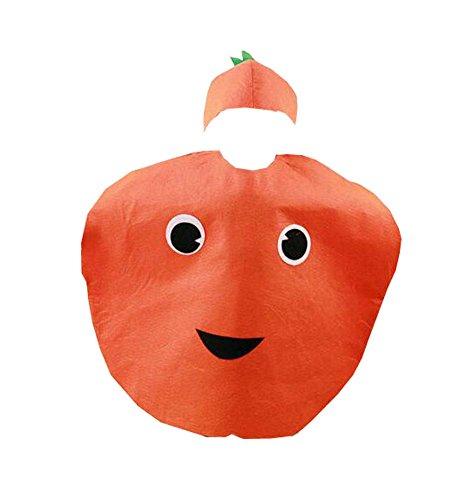 eidung Früchte Kostüm Anzug für Rollenspiele Modenschau, Orange (Orange Frucht Kostüme)