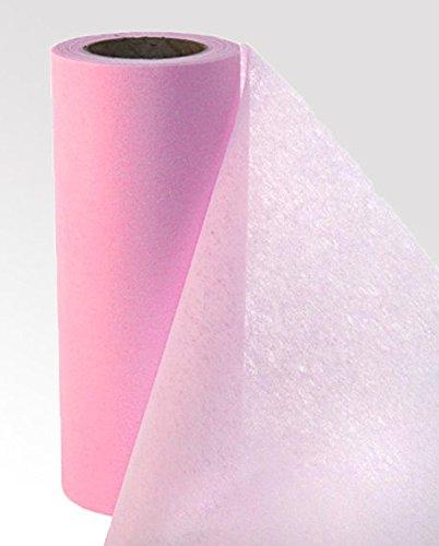 Tischband Tischvlies Tischläufer Tischdeko 20m lang 20cm breit zartes ROSA