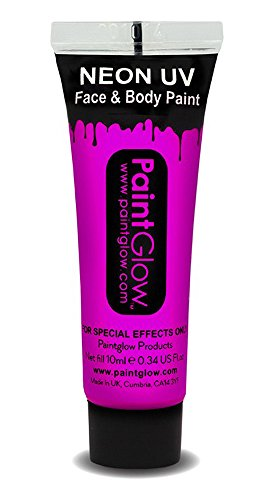 UV Neon Face & Body Paint Make up Pink