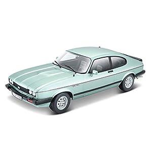 Bburago 15621093BL BB - Maqueta de Ford Capri (Escala 1:24), Color Verde