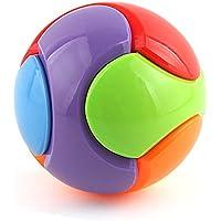 MZStech DIY Bausteine Ball Regenbogen Ball Magic Cube Puzzle Ball als Sparschwein preisvergleich bei kinderzimmerdekopreise.eu