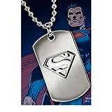 Superman Dog Tag Anhänger inkl. Kette