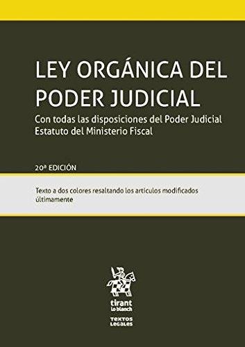Ley Orgánica del poder judicial por Juan . . . [Et Al. ] Montero Aroca