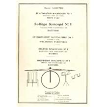 Agostini solfege Syncopé Vol.1