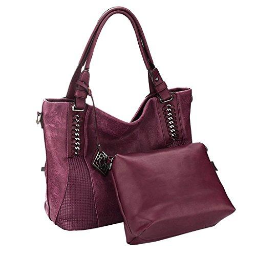 SSMKHobo Shoulder Bags - Borsa a secchiello Donna coffee color