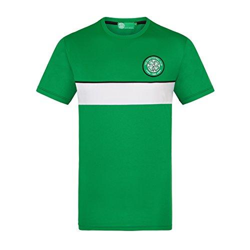 29470b584 Celtic FC Officiel - T-Shirt pour Entrainement de Football - Polyester -  Homme -