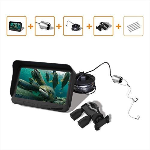 AINGOL HD Underwater Video Fish Finder mit 30M 2MP Fishing Camera & 4.3