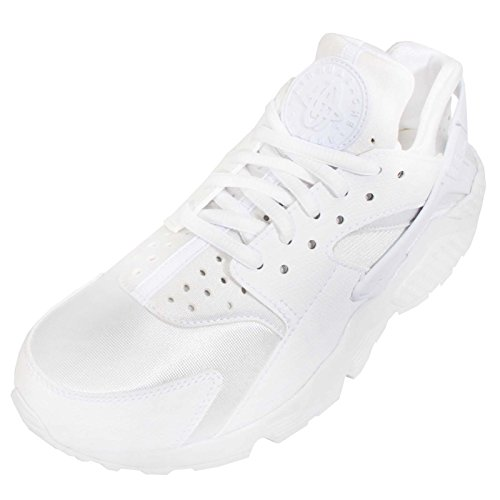 Air Huarache Run, bianco / bianco, 6,5 Us Bianco (bianco)