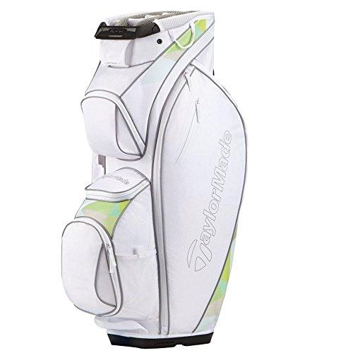 TaylorMade Kalea Tasche für Golfschläger, Herren Einheitsgröße Weiß/Grün -