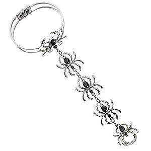 WIDMANN 09663pulsera con anillo de araña, One size