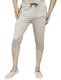 Harvi Best Quality/Comfortable Wear/Polyster Cotton Fabric/Knee Length Three Fourth Capri For Men