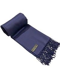 CJ Apparel Scialle, pashmina, sciarpa avvolgente, scialle pashmina, robusto, colorato, (più di 60 colori), nuovo