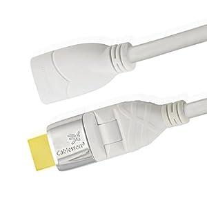 Cablesson MacKuna High Speed HDMI-Kabel mit Ethernet, 1.4a 3D Ready mit Ethernet-Kanal und Audio Return für Sony PS3…