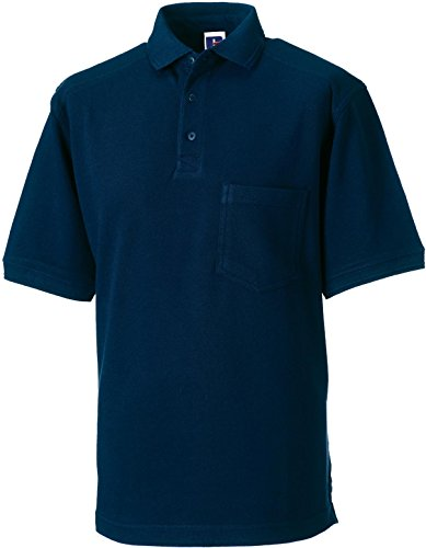 russell-collection-strapazierfahiges-pique-arbeits-poloshirt-r-011m-0-xxlfrench-navy