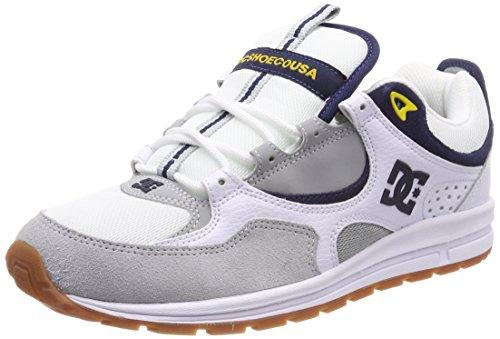 DC Shoes Herren Kalis Lite Skateboardschuhe, Weiß (Blanco/(WYY White/Grey/Yellow) WYY), 40 EU (Dc-leichte Turnschuhe)